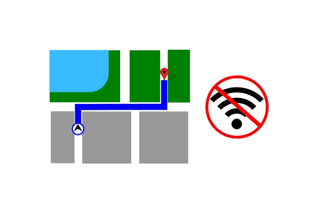 Nawigacja i Mapy bez internetu - offline
