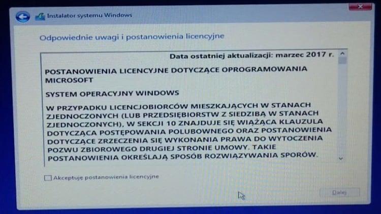 Akceptacja_Licencji_Windows_10