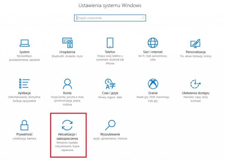 Aktualizacje_i_zabezpieczenia_Windows_10