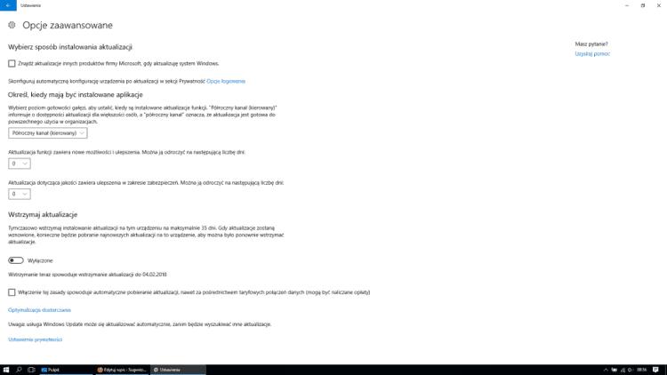 Opcje_zaawansowane_aktualizacje_i_zabezpieczenia_nieprawidlowo_Windows_10