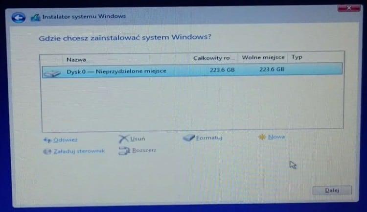 Partycjonowanie_Instalacja_Windows_10