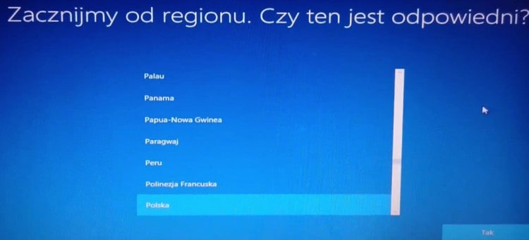 Wybór_regionu_Windows_10