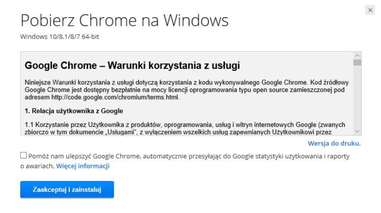 Akceptacja_Licencji_Google Chrome