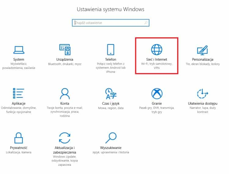 Sieć_i_Internet_Windows_10