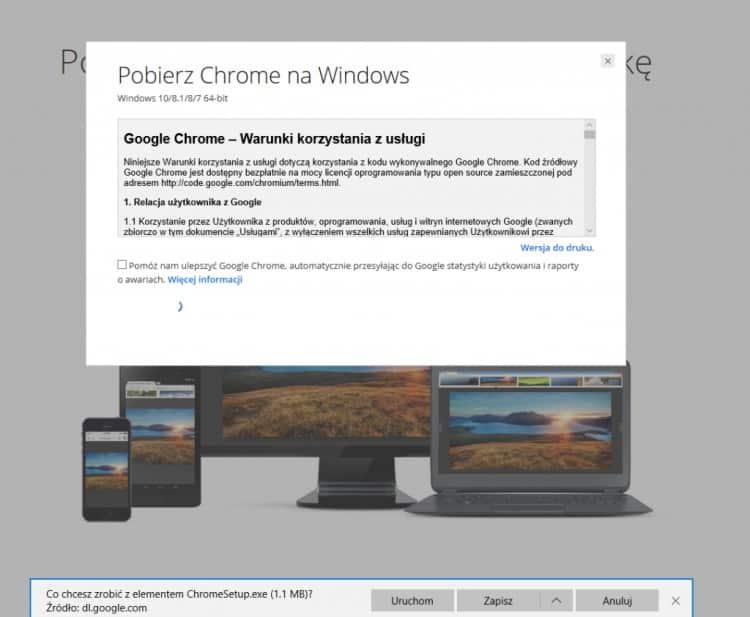 Zapisz_Google Chrome