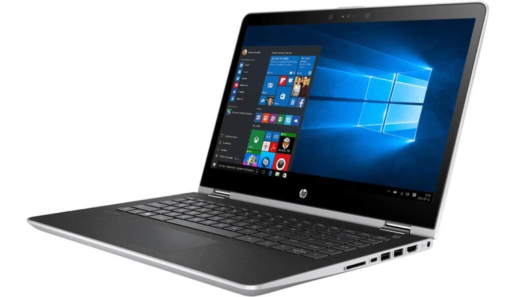 HP Pavilion x360 i3-7100u 128GB SSD 4GB Ram Win10