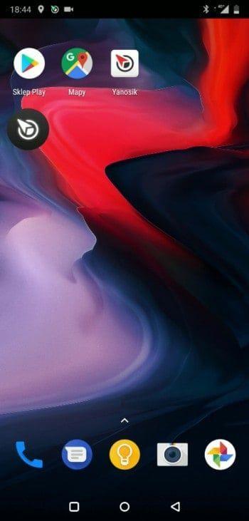 Yanosik pływająca ikonka antyradaru