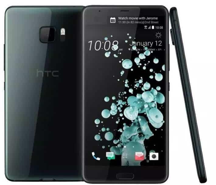 Najlepszy smartfon do 1000 zł HTC U Ultra 4 64 GB