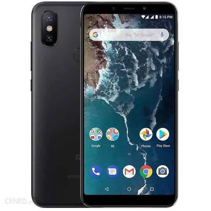 Najlepszy smartfon do 600 zł - Xiaomi Mi A2 4/64 GB