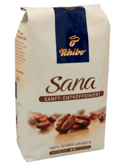 Bezkofeinowa Kawa ziarnista - Tchiba Sana - 500g